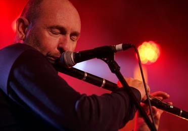 Michael McGoldrick playing flute