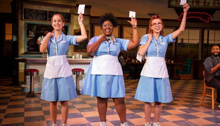 Cast of Waitress by Jeremy Daniel