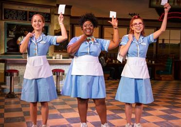 Cast of Waitress by Jeremy Daniel