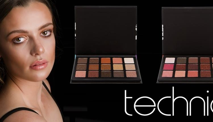 Makeup palettes from Bodycare