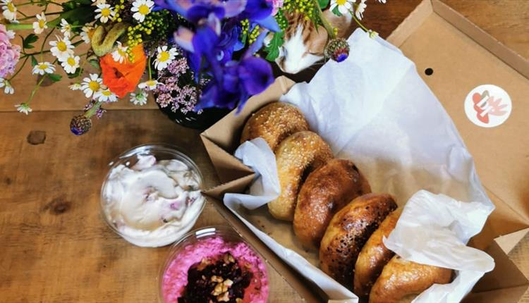 Bread and Flower Basket