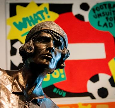 New Lily Parr display at National Football Museum