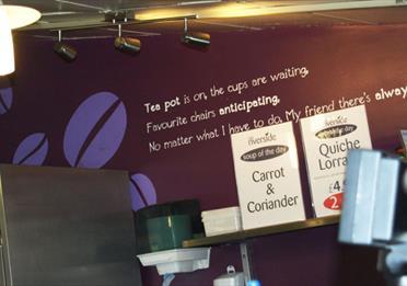 Cafe Riverside at Daisy Nook Garden Centre
