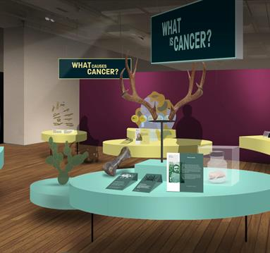 Cancer Revolution, Credit Skellon Studio and Seeing Things