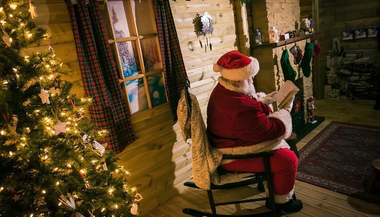 Santa's Grotto and Christmas Fun at Chill Factore