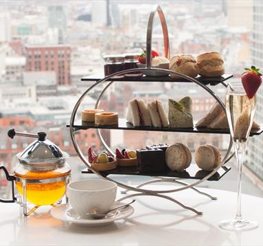 Afternoon tea at Cloud 23