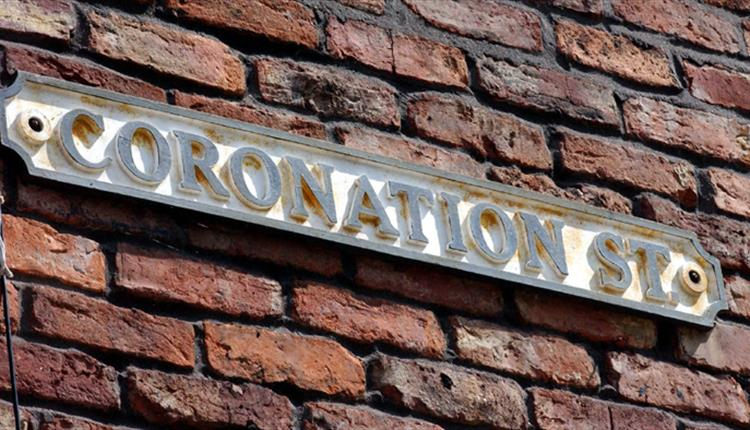 Corontation Street sign