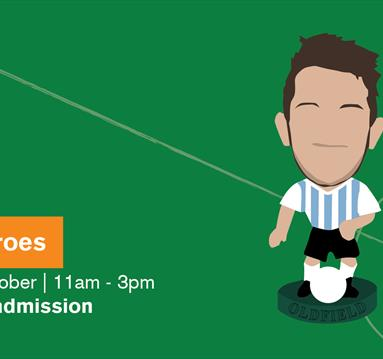 Poster: Children's Writing Festival - Play Like Your Football Heroes
