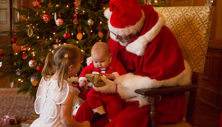 Children and Father Christmas