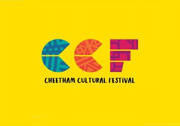 Yellow poster: Cheetham Cultural Festival