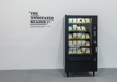 The Annotated Reader. Installation view, 2019, Fruitmarket Gallery, Edinburgh.