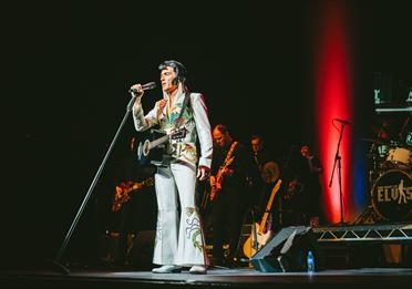 Lee Memphis King dressed up as Elvis