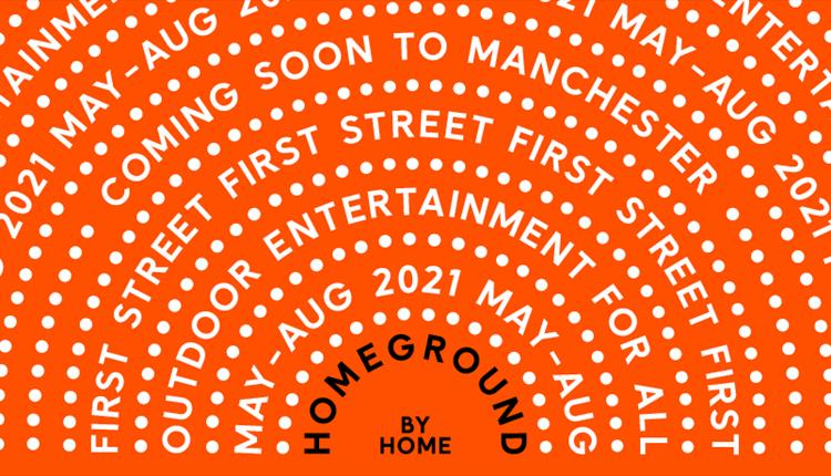 Orange poster: Homeground