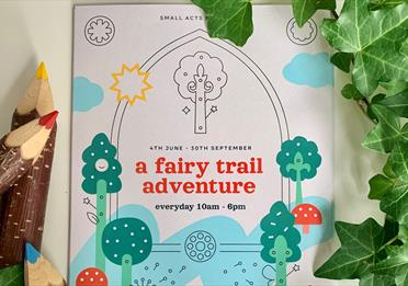 a fairy trail adventure poster