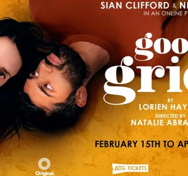 Good grief poster with Sian Clifford and Nikesh Patel