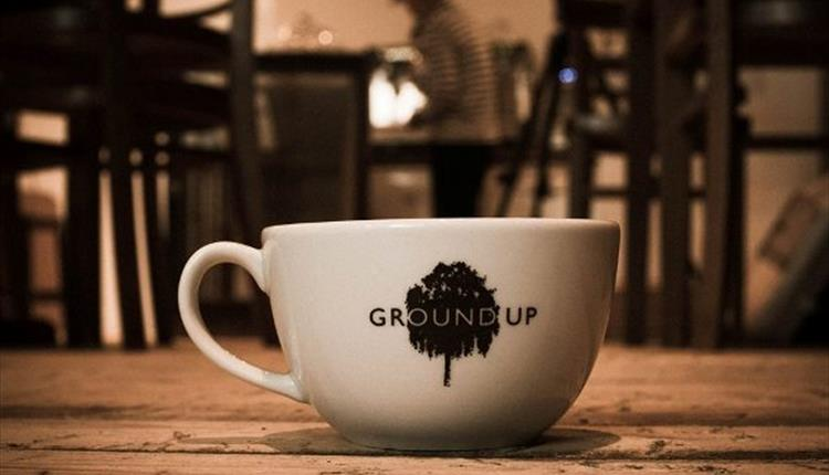 Ground UP Coffee Shop picture courtesy of Steven James Tunney