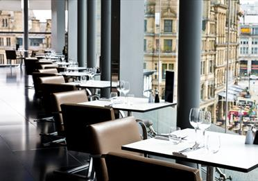Second Floor Bar and Brasserie, Harvey Nichols Manchester