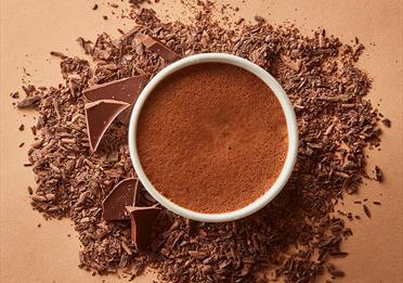 Hot chocolate from Hotel Chocolat