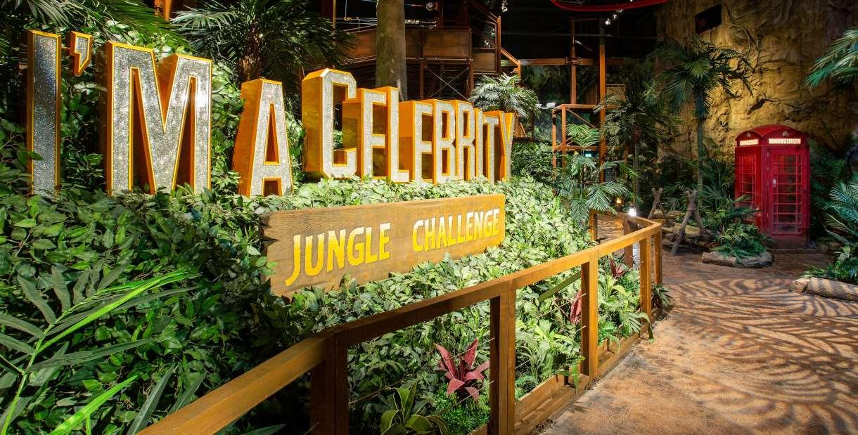 I'm A Celebrity Jungle Challenge, Manchester, sign