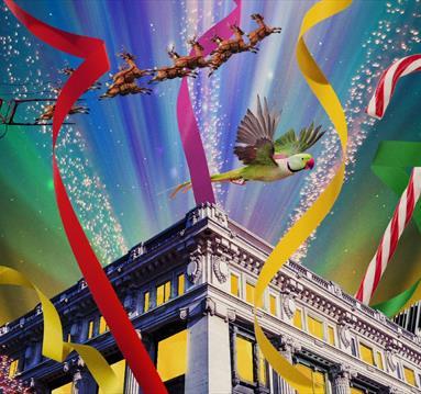Meet Santa Claus at Selfridges Artwork