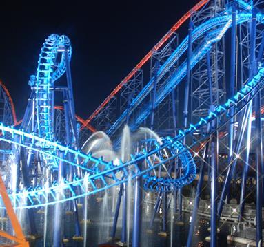 Infusion at night, Blackpool