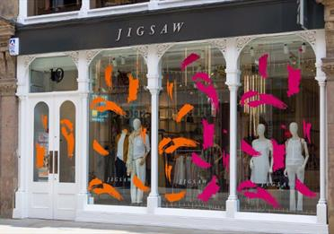 The front of Jigsaw in Manchester