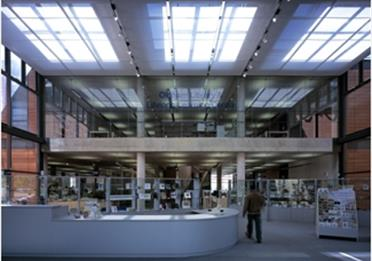 image of inside the library oldham