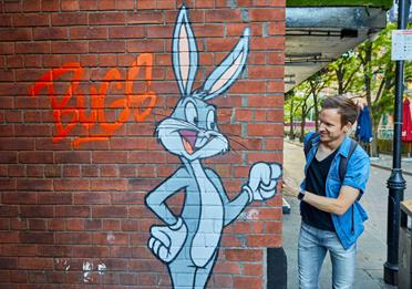 Looney Tunes Bugs Bunny artwork for Looney Tunes Art Trail