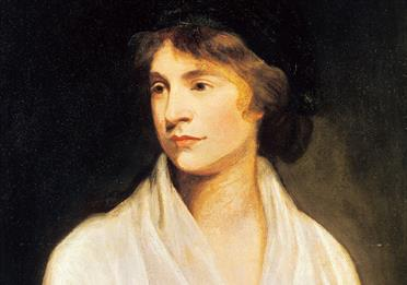 Painting of Mary Wollstonecraft