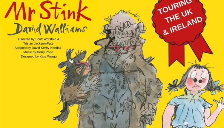 Drawing of Mr. Stink