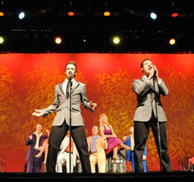 New Jersey Boys on stage