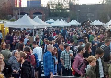 Veg Fest Night Market at Levenshulme Market