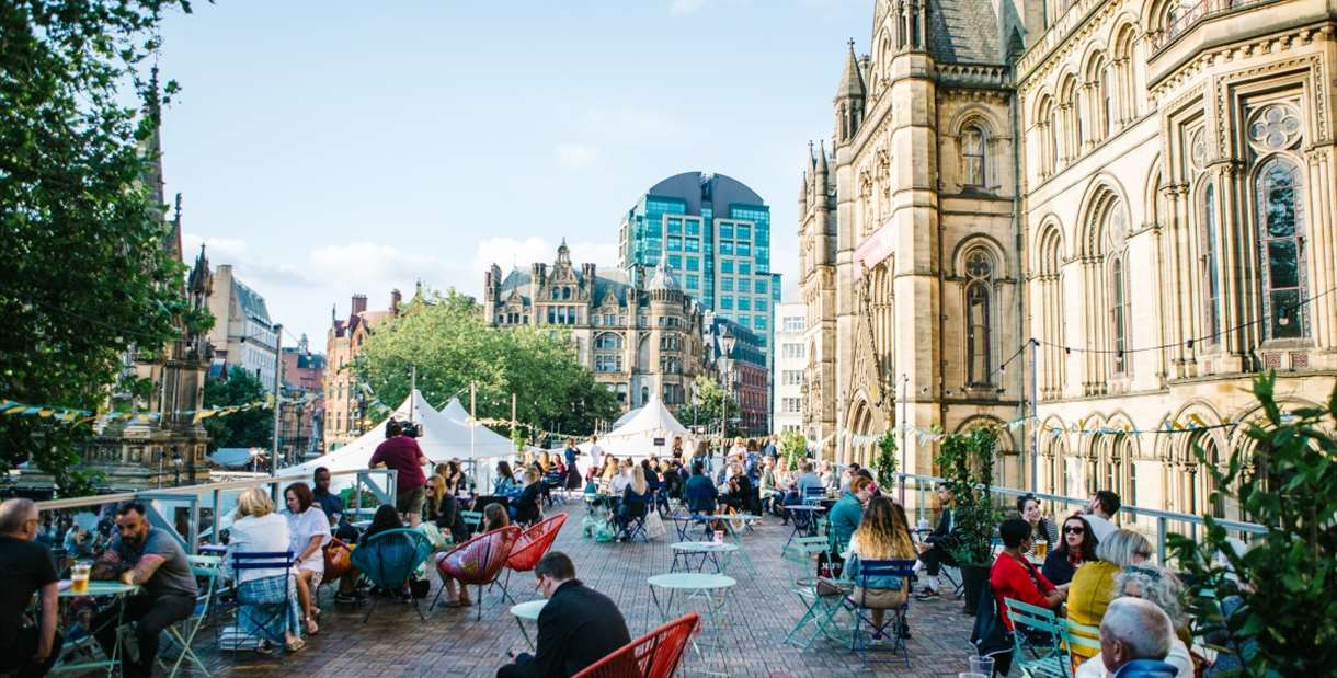 Festival Square at MIF19