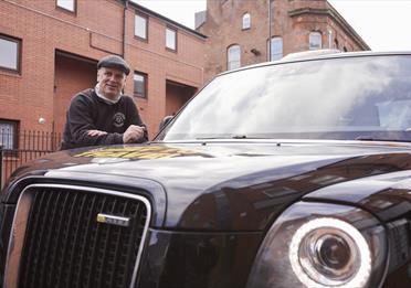 John Consterdine of Manchester Taxi Tours
