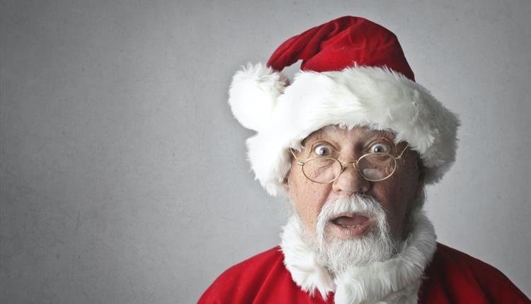 Surprised Santa