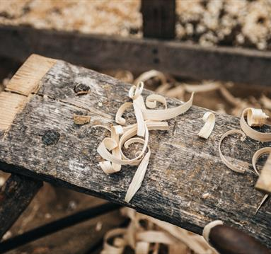 Brown Wood Shred