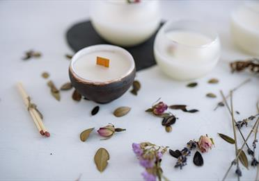 White Ceramic Bowl on White Surface