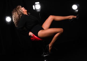 Justine Riddoch as Tina Turner