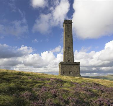 Peel Tower and holcome hill