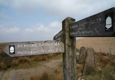 Pennine Bridleway above Hollingworth Lake