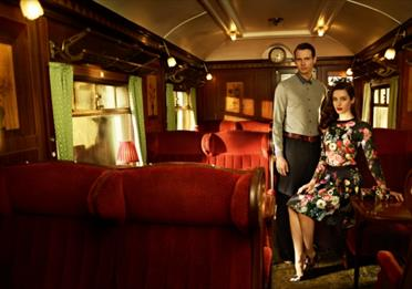 Fashion shoot by Ted Baker