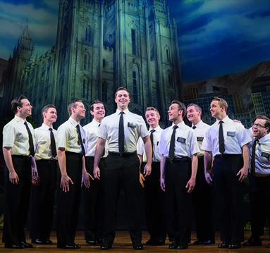 The Book of Mormon 2018. Photo credit Johan Persson