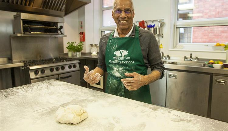 Vegan Baking at Vegetarian Society Cookery School