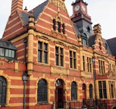 Victoria Baths, exterior