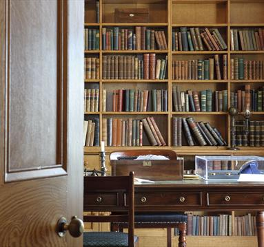 William Gaskell's study Elizabeth Gaskell's House