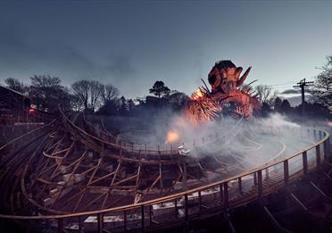 Alton Towers Theme Park & Resort Day Trip