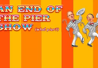 An end of the open pier show advert