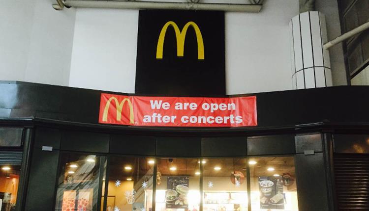 McDonalds Manchester Arena