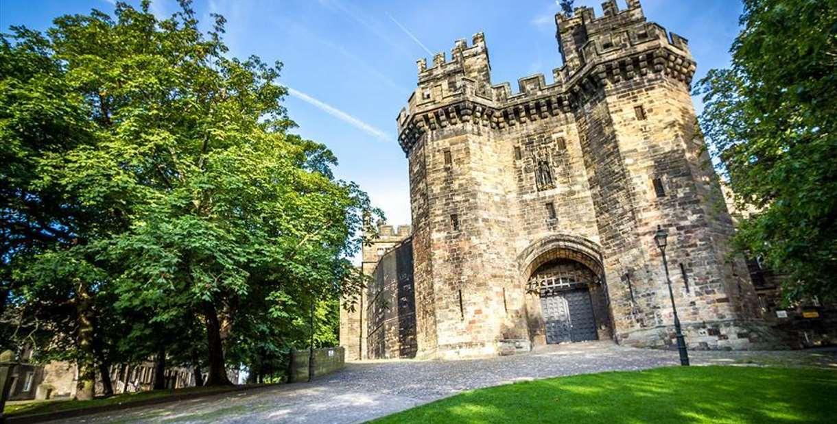 Lancaster Castle exterior, Lancaster