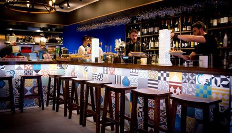Inside Baratxuri Bar, Ramsbottom
